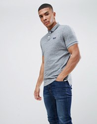 Superdry Classic Polo In Grey