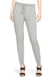 Donna Karan Cashmere Blend Jogger Pants Gray