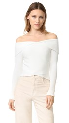 A.L.C. Rayne Sweater White
