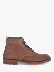 Barbour Seaburn Derby Suede Boots Tobacco