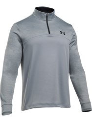 Under Armour Men's Fleece 1 4 Zip Jumper Grey