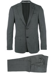 Z Zegna Formal Two Piece Suit Grey