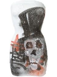 Faith Connexion Sequin Skull Dress Multicolour