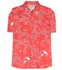 Current Elliott The Western Days Printed Shirt Red