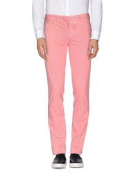 Piatto Trousers Casual Trousers Men Pastel Pink
