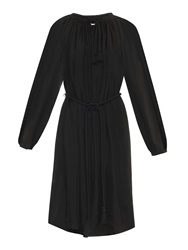 Lanvin Long Sleeved Silk Dress