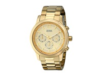 Guess U15061g2 Chronograph Stainless Steel Watch Gold Gold Dial Dress Watches
