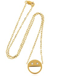 Vita Fede Sorriso Chain Necklace Gold