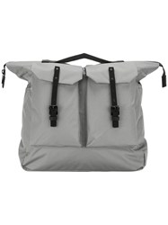 Ally Capellino Frank Ripstop Backpack Grey
