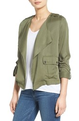 Candc California Women's C C Drape Front Jacket