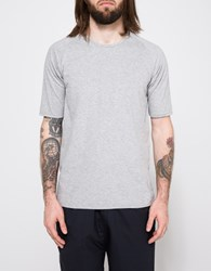 Camo Irving Raglan T Shirt Gray