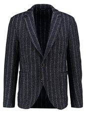 Sisley Suit Jacket Navy Dark Blue