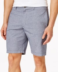 Club Room Guild Dot Print Shorts Only At Macy's