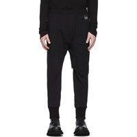 Julius Black Contrast Track Pants