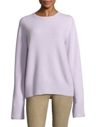 The Row Wool Blend Top Barley Lt Pink