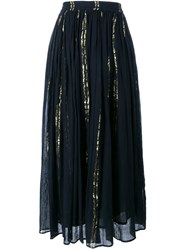 Mes Demoiselles Bosphore Maxi Skirt Black