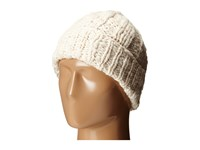 Cole Haan Chunky Cable Cuff Hat Ivory Caps White