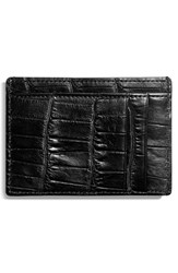 Shinola Men's Leather Card Case