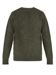 Howlin' Birth Of The Cool Wool Sweater Green