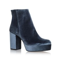 Carvela Sweden High Heel Ankle Boots Light Grey