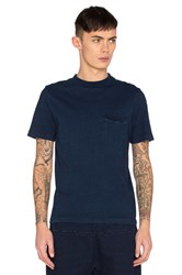 Ag Adriano Goldschmied Capsule Cinque Tee Blue