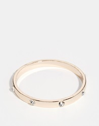 Fleur East By Lipsy Crystal And Stud Bangle Gold