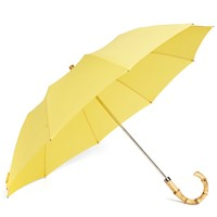 London Undercover Whangee Telescopic Umbrella Yellow