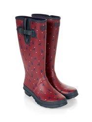 Dash Dog Print Welly Black