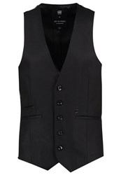 G Star Gstar Blake Waistcoat Waistcoat Hoist Black Denim Raw Denim
