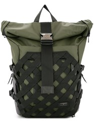 Makavelic Fearless Rolltop Backpack Green
