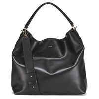 Paul Smith Accessories Women's Leather Hobo Bag Black