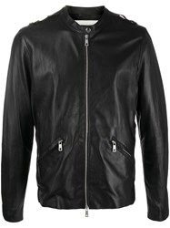 Giorgio Brato Leather Biker Jacket 60