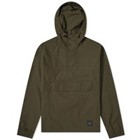 Paul Smith Ripstop Popover Hooded Cagoule Green