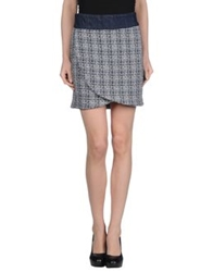 Guess By Marciano Mini Skirts Blue