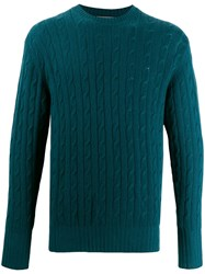 N.Peal The Thames Sweater Green