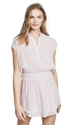 Rails Angelina Dress Rose Stripe