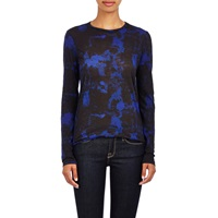 Burnout Long Sleeve T Shirt Indigo