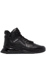 Balmain B Ball Leather Sneakers 60