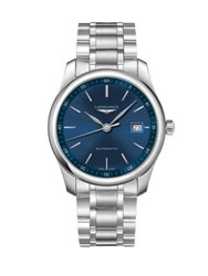 Longines Stainless Steel Automatic Bracelet Watch No Color