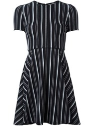 Opening Ceremony Striped Dress Black