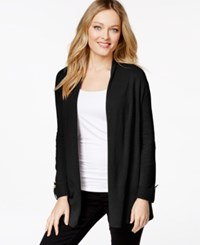 Charter Club Petite Open Front Cardigan Only At Macy's