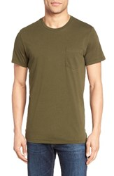 Bonobos Men's Jersey Pocket T Shirt Brine Olive