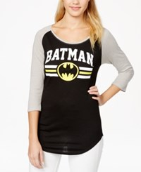 Bioworld Juniors' Batman Graphic Baseball Tunic T Shirt