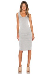 Lamade Frankie Ruched Dress Grey