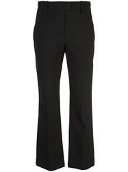 Brunello Cucinelli High Waisted Pleated Trousers Black