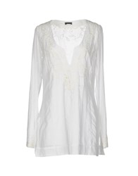 Richmond Denim Kaftans White