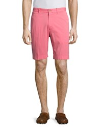 Bobby Jones Stretch Twill Signature Chino Golf Shorts Island Red