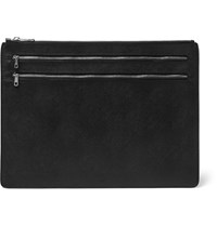 A.P.C. Leather Document Holder Blue