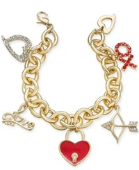 Thalia Sodi Gold Tone Love Inspired Charm Bracelet Only At Macy's