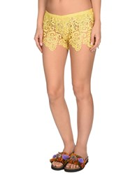 Fk Project F K Beach Shorts And Pants Yellow